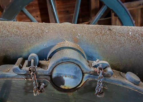 Civil War 1863 Cannon Not Yet Refurbished - Blue Ridge Pky