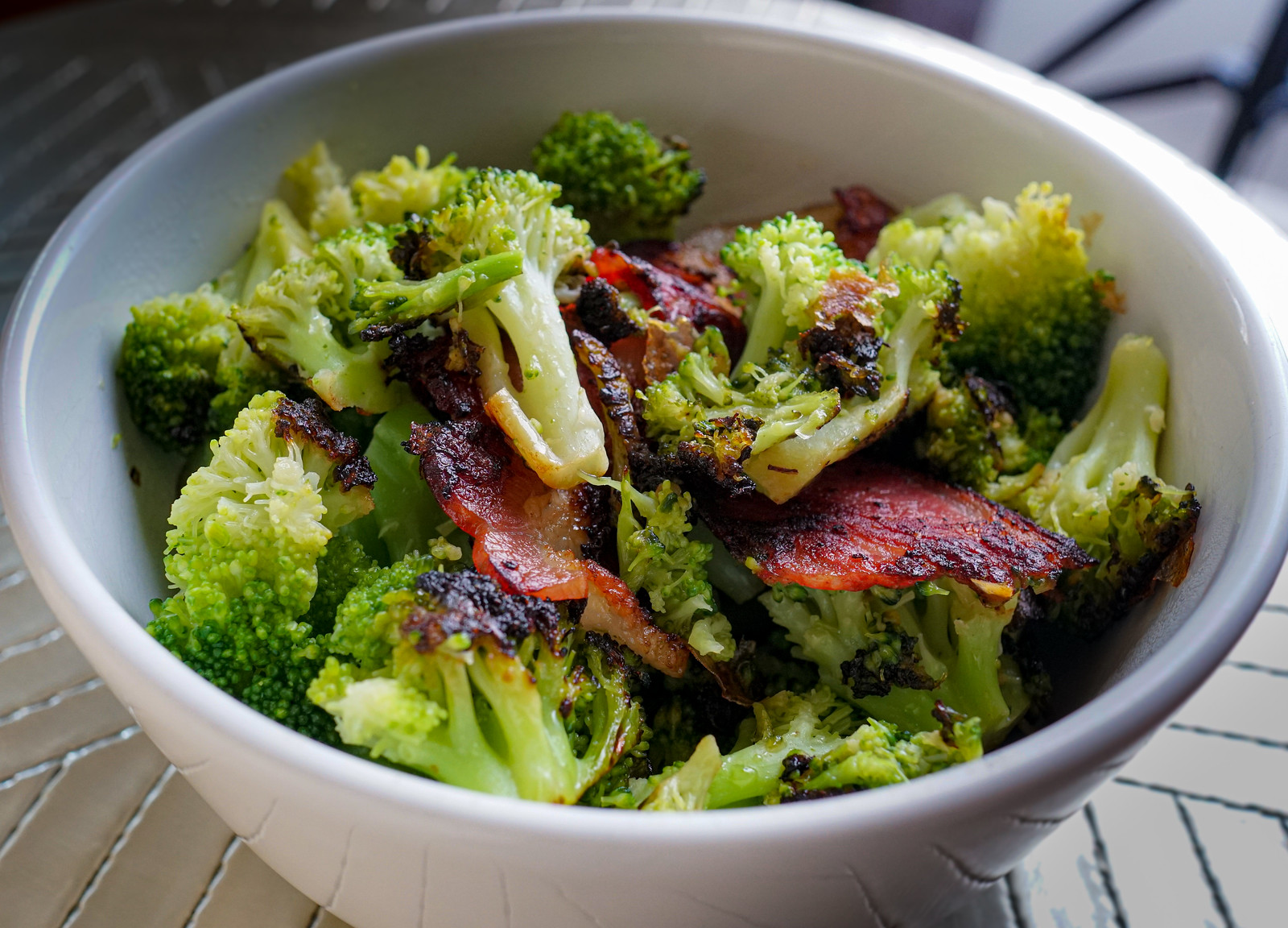 2019.07.07 Broccoli with Bacon, LCHF, Washington, DC USA 18305