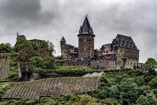 burgstahleck rhine kdcruise germany deutschland