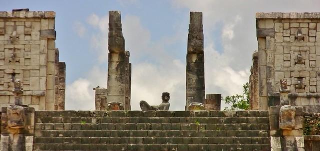 MEXICO, Yucatán, Chichén Itzá, Kriegertempel ,  19048/11708