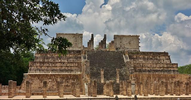 MEXICO, Yucatán, Chichén Itzá, Kriegertempel , 19049/11709