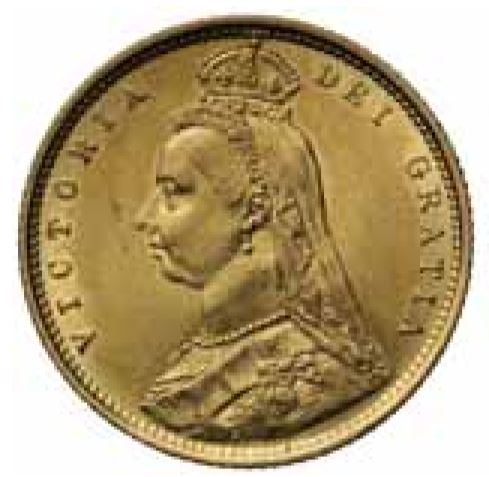 Queen Victoria jubilee head