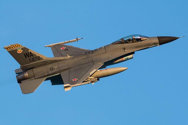 USAF F-16 at Nellis