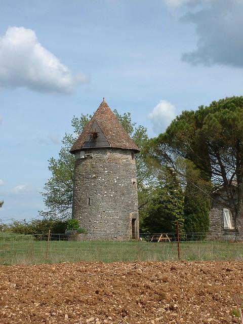 Saint-Jean-de-Laur - Moulin à vent du Ramier