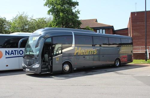 Hearns-Harrow Weald YN18ZNT in Gordano services M5.