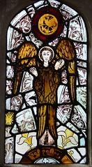 restored 15th Century angel