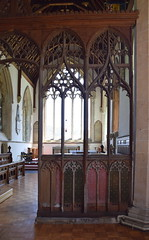 rood screen, south