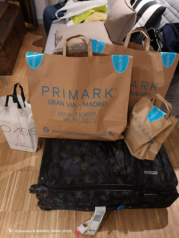 2018 Spain Madrid Primark Haul