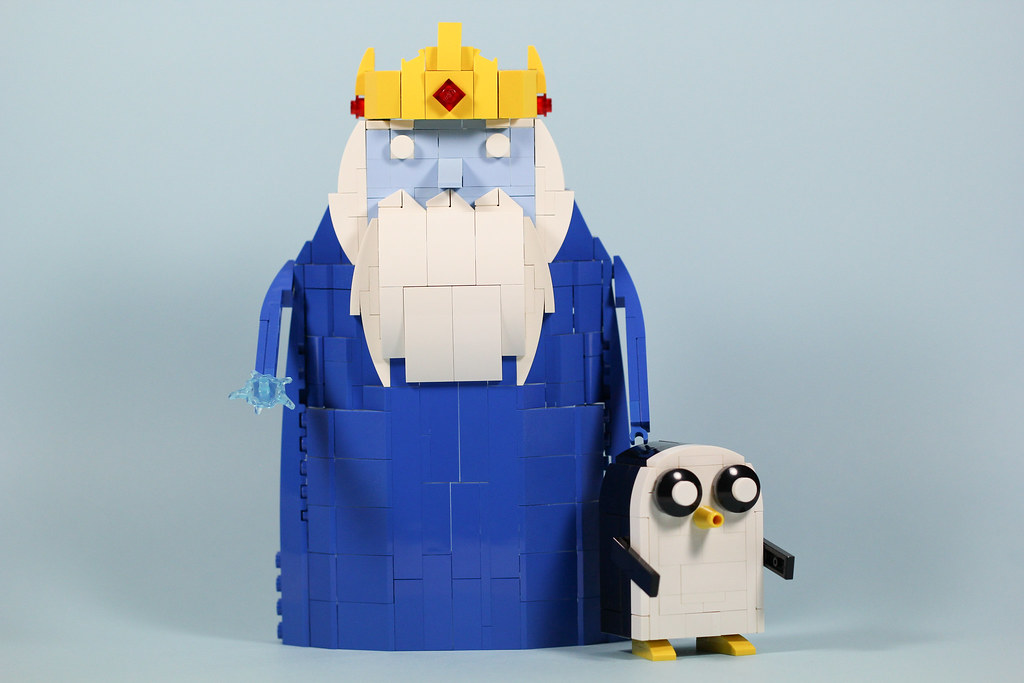 Ice King & Gunter (custom built Lego model)