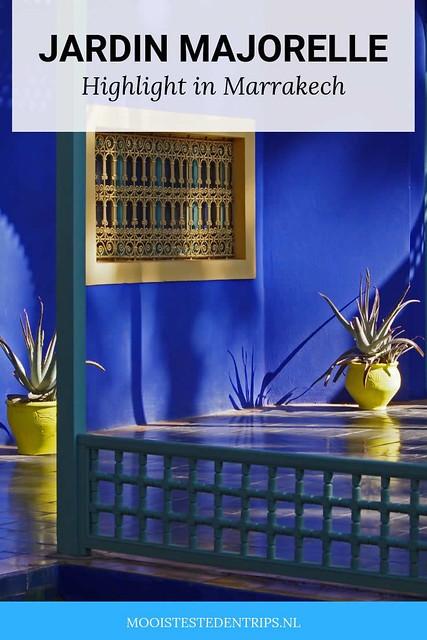 Jardin Majorelle: een oase van rust in Marrakech | Mooistestedentrips.nl