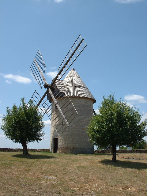 Lamothe-Cassel - Moulin à vent de Lamothe