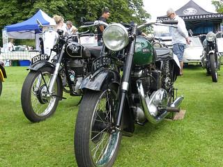1949 Ariel KG 500 DeLuxe Twin