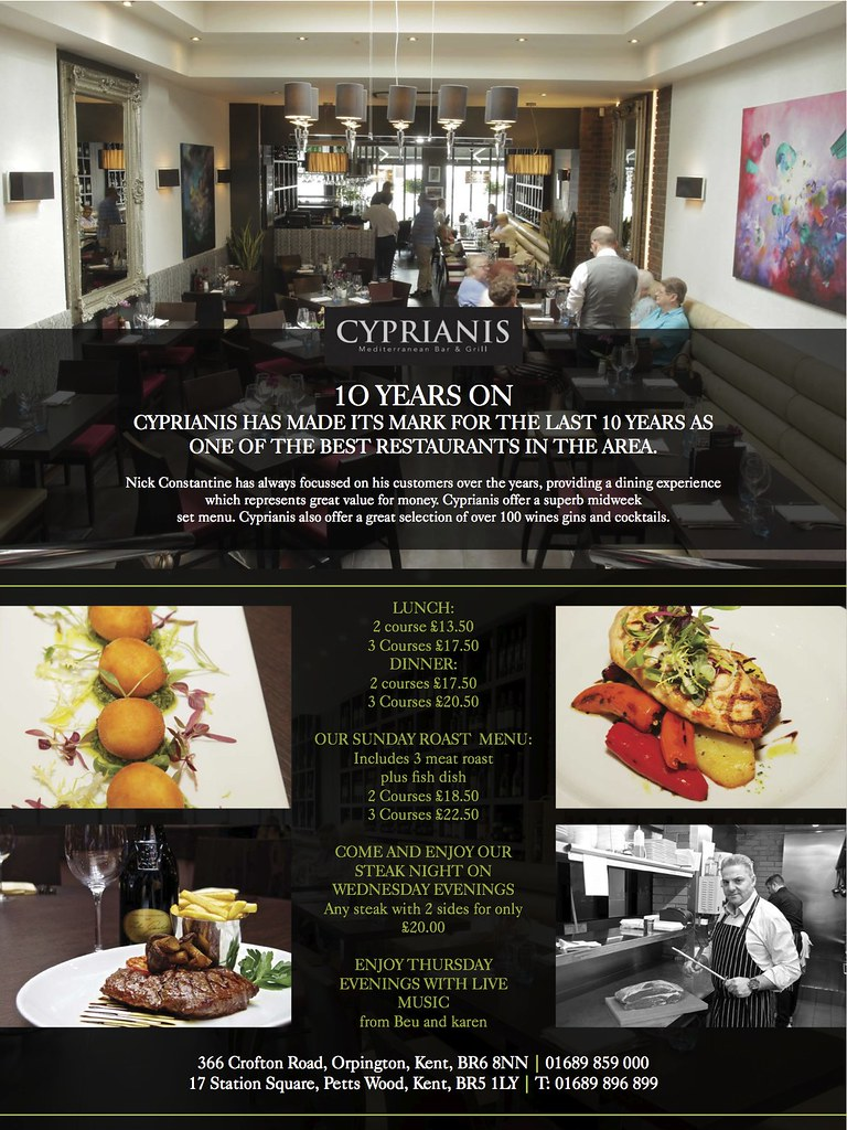 CIPRIANIS Advert