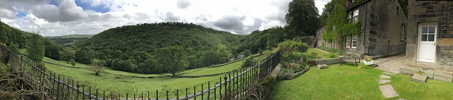 View from Lumb Bank (Ted Hughes' former home)