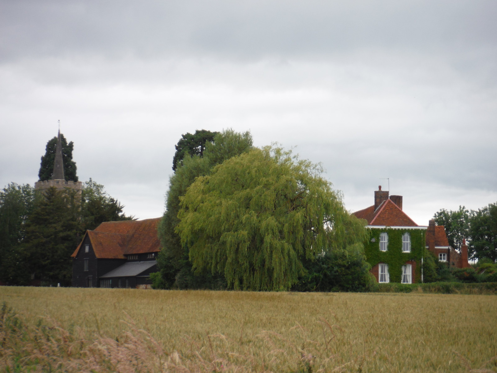 Thorley Hall and Church SWC Walk 210 - Sawbridgeworth to Bishop's Stortfort (via Henry Moore Foundation)