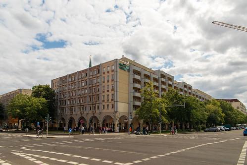 Am Nikolaiviertel neben dem Roten Rathaus