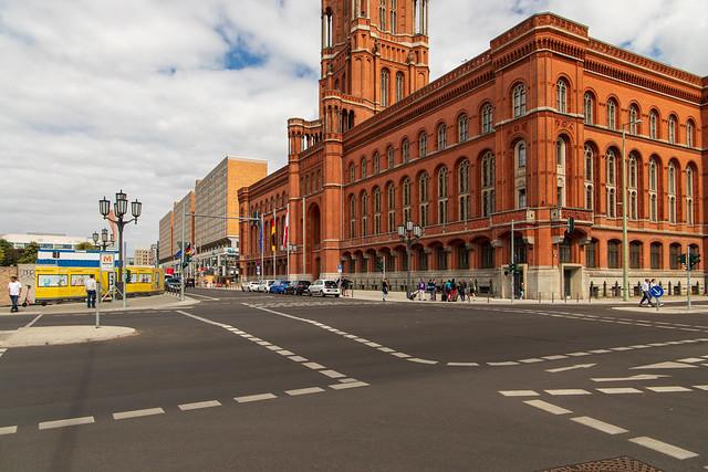 Wo einst Berlins altes Rathaus stand