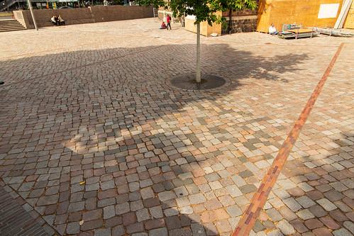 Vor der Marienkirche