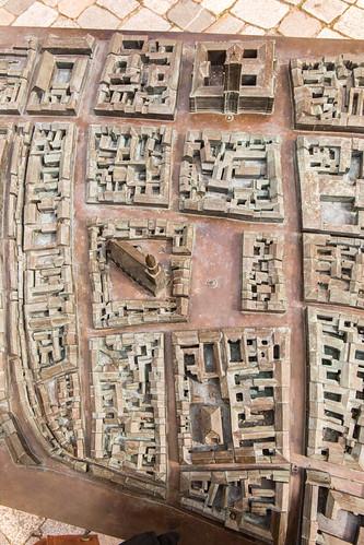 Historisches Stadtmodell entlang der Spandauer Straße