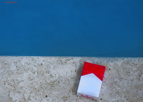 cigarettes pool minimal photography | by Tony - Walton