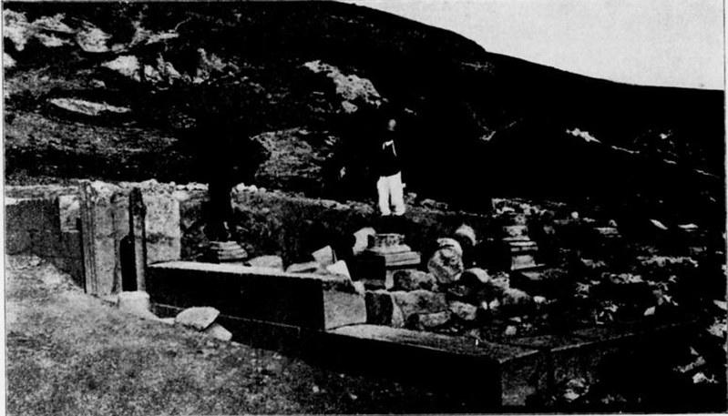 Gush-Halav-Synagogue-After-Excavation-1916-skai-1