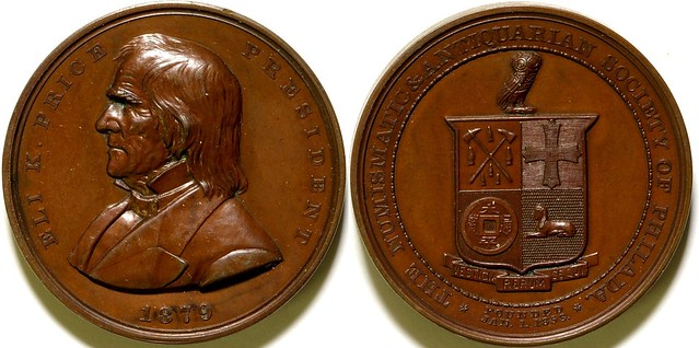 Numismatic and Antiquarian Society of Philadelphia Medal