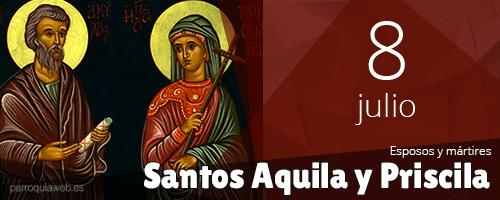 Santos Aquila y Priscila - ParroquiaWeb