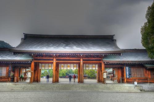 02-04-2019 Kashihara-Jingu Shrine, Nara pref (1)