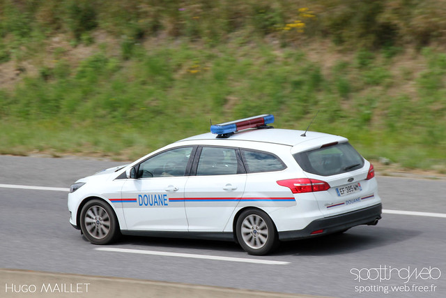 Douane   Ford Focus SW