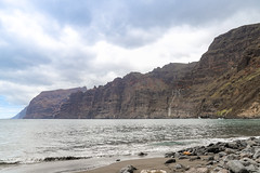 View of the cliffs of Los Gigantes on Tenerife, Spain