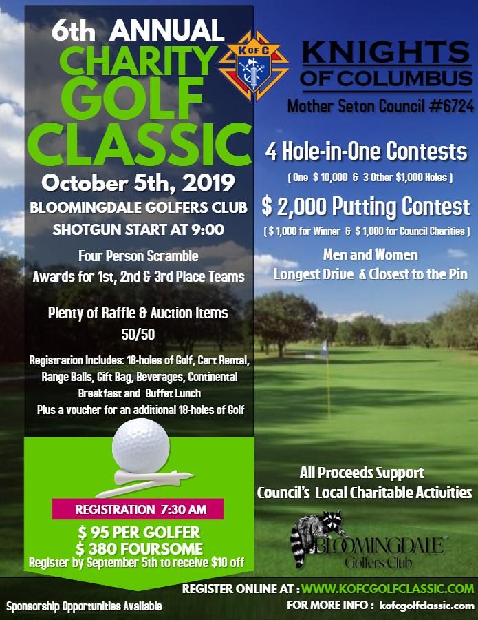 2019 Golf  Flyer