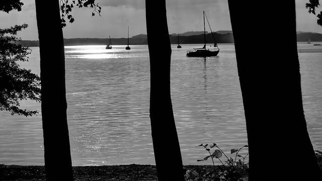 Sailing on Lake Chiemsee