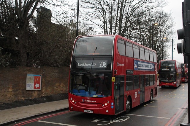 Stagecoach London 19135, LX56EAM - Route 208 | Lewisham Station