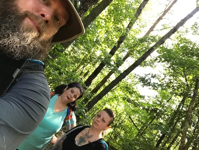 Post hike selfie!