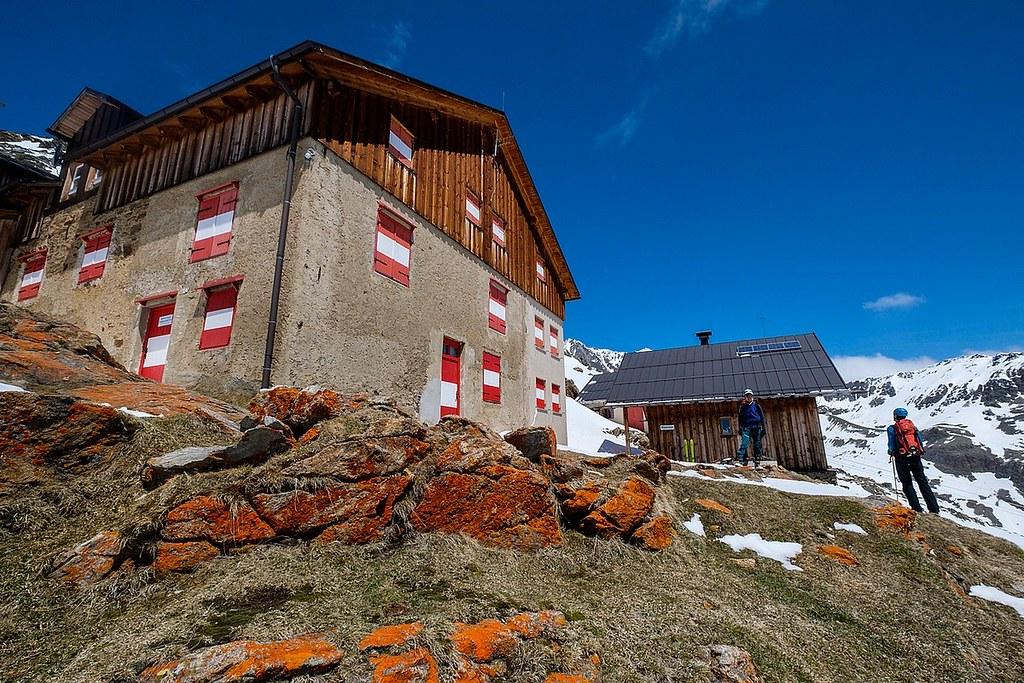 Breslauer Hütte Ötztaler Alpen / Alpi Venoste Rakousko foto 01