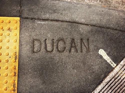 """""""Ducan"""" (Duncan) Street"""