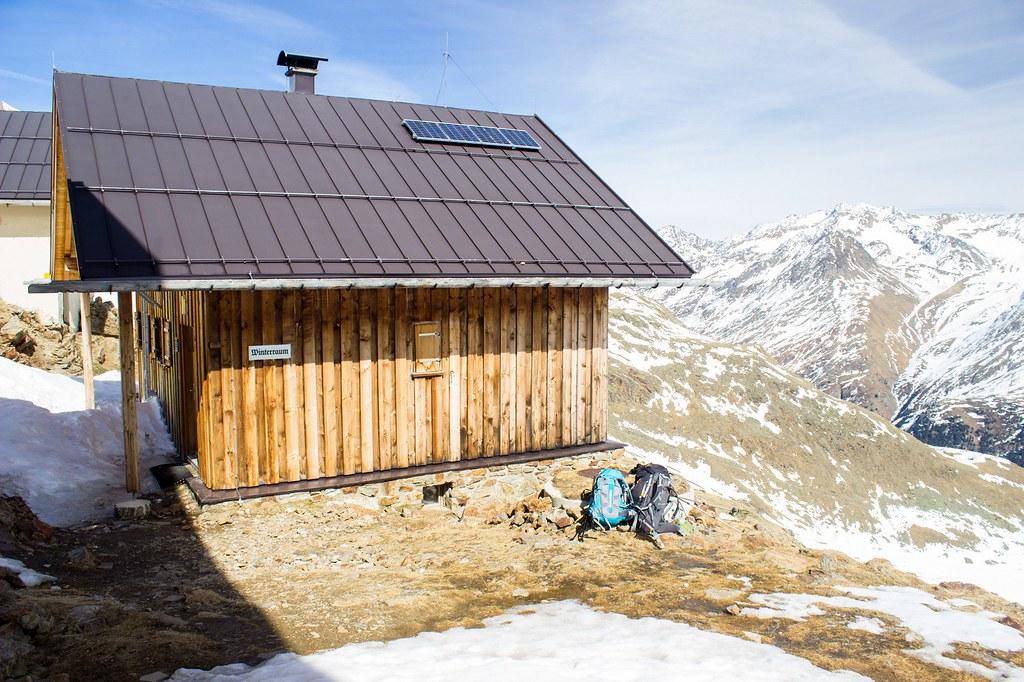 Breslauer Hütte Ötztaler Alpen / Alpi Venoste Rakousko foto 02