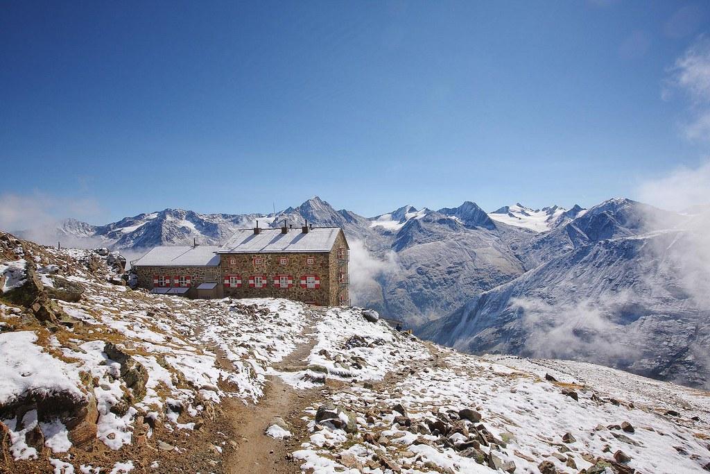 Breslauer Hütte Ötztaler Alpen / Alpi Venoste Rakousko foto 04