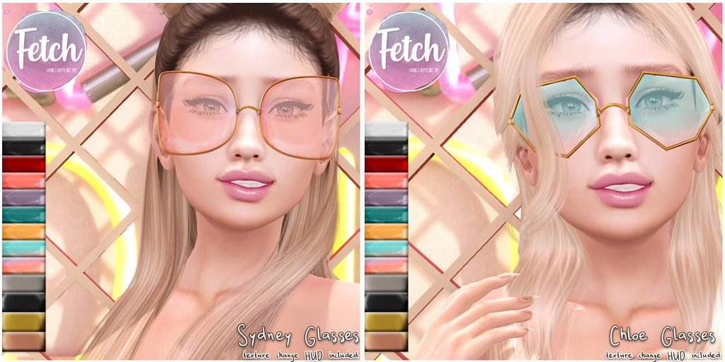 [Fetch] Sydney & Chloe glasses  @ Collabor88!
