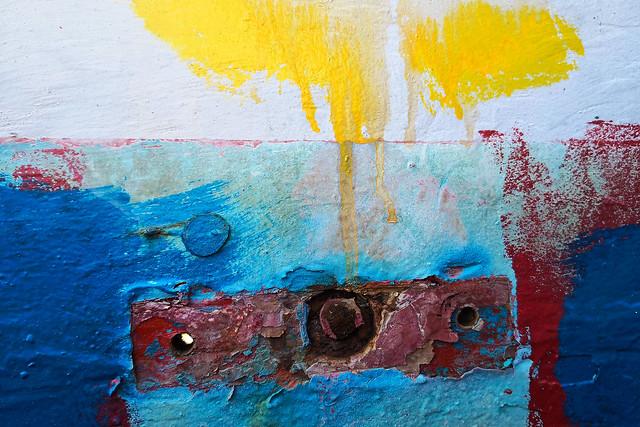 boat abstract art