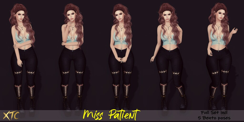 .Miss Patient. NEW EVENT La vie en Pose