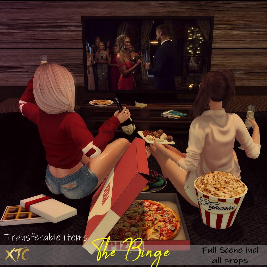 .The Binge. NEW EVENT La vie en Pose