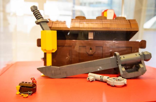 樂高想像力工廠開張~ 彈珠台、轉蛋機....等在地化贈品等你拿!「樂高『盒』你這樣玩」於高雄夢時代歡樂展開!!