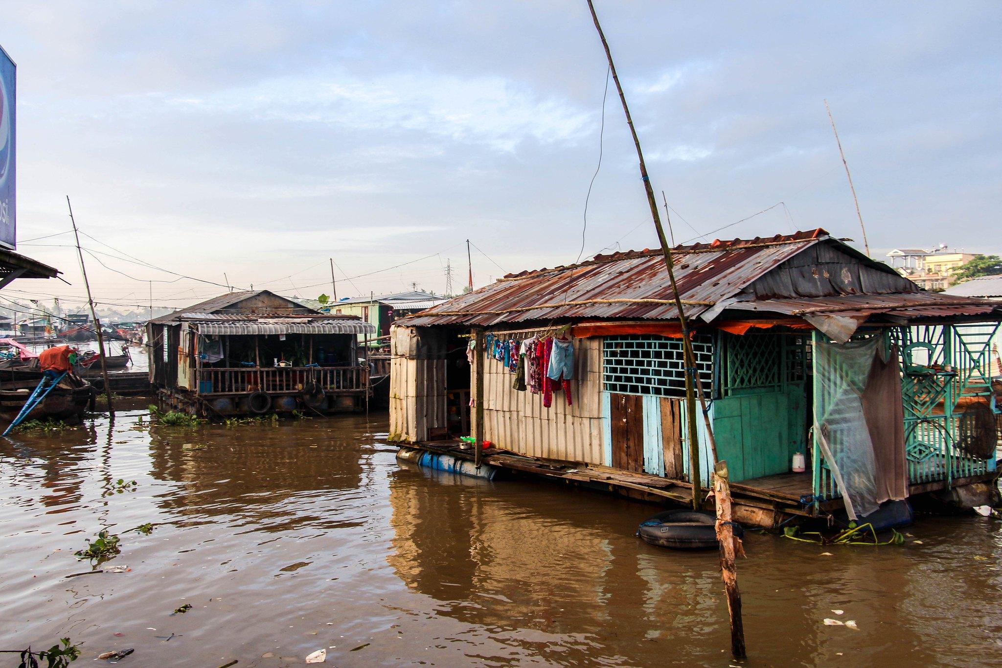 Boat House Can Tho Vietnam Ben Ninh Kieu Tuyen Chau