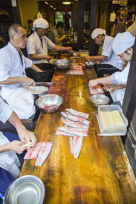 Eel Chefs Narita Chiba Japan Tuyen Chau