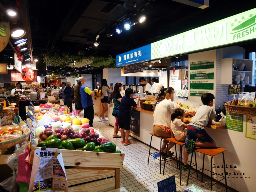 台中西區雨天景點推薦伴手禮文青菜市場第六市場金典綠園道商場 (3)