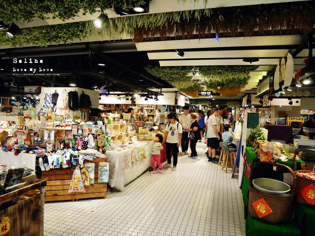 台中西區雨天景點推薦伴手禮文青菜市場第六市場金典綠園道商場 (2)