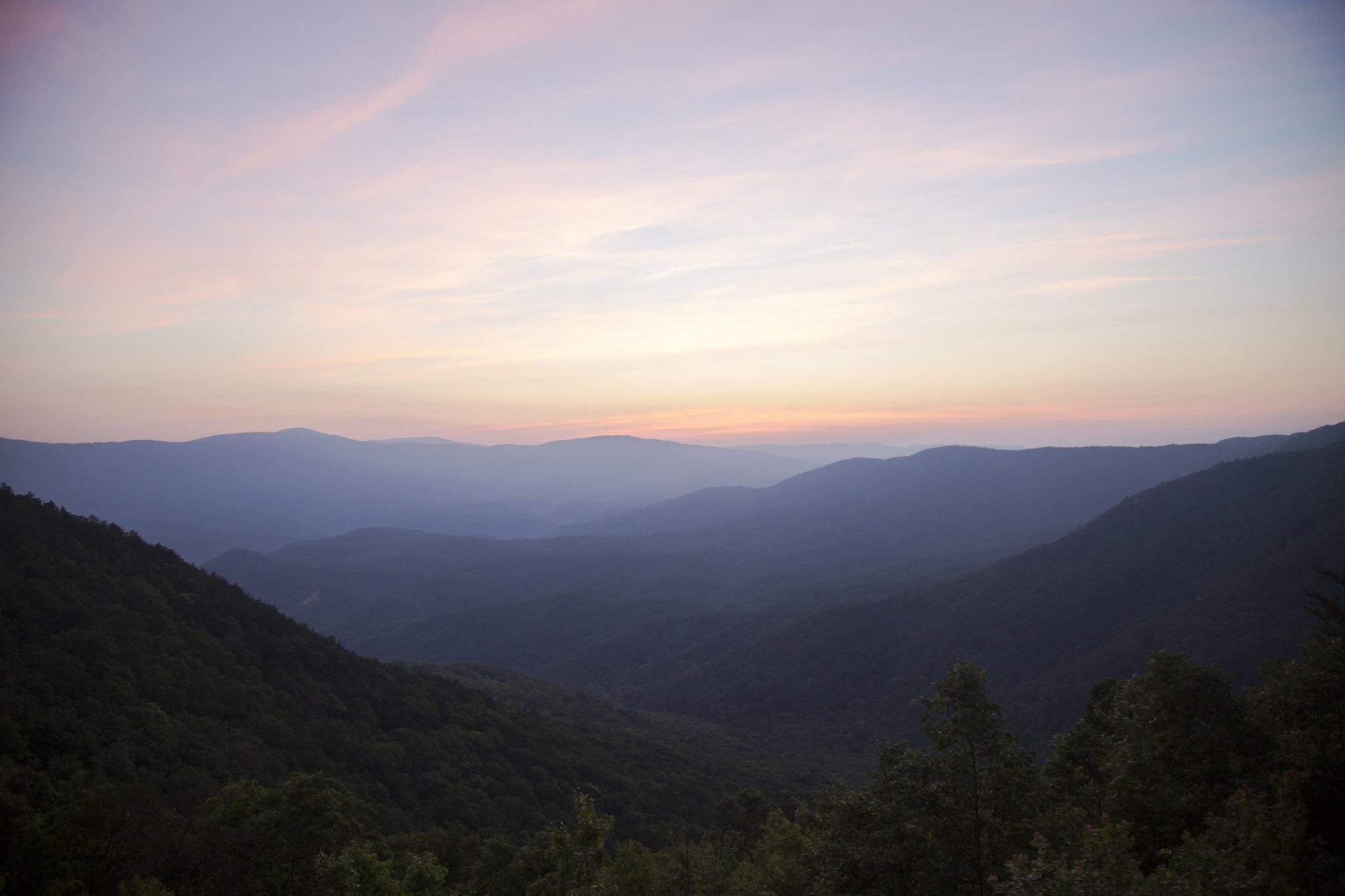 Fort Mountain State Park Sunrise Tuyen Chau
