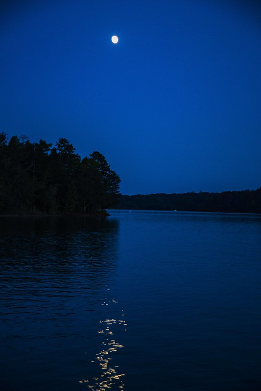 Tugaloo State Park Lake Moonlight Tuyen Chau