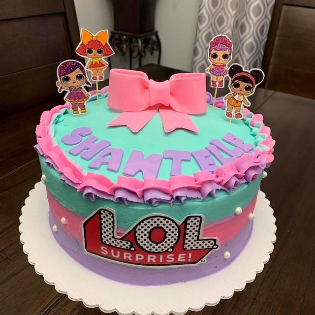 Cake from CK Cakes By Karen Hernandez